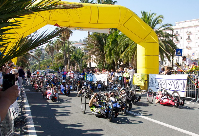 Gi Handbike Sanremo Partenza
