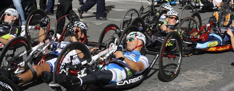 Handbike campionato italiano societa