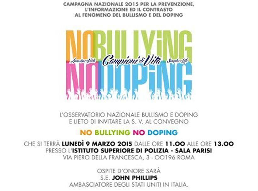 Invito Convegno Bullismo E Doping