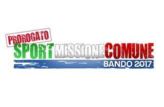 Banner Proroga Sportmissionecomune2017 Pre