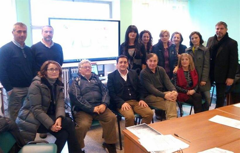 Foto Gruppo Di Lavoro Fci Lazio E IV ° Istituto Comprensivo Scolastico Frosinone