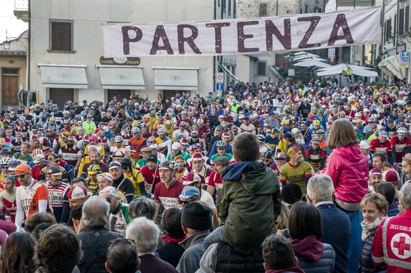 La Partenza (Foto Luigi Burroni)