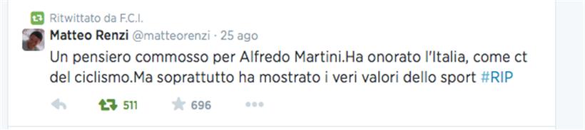 Twitter Renzi