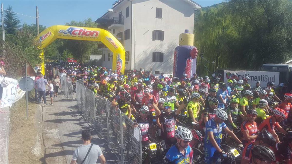 FCI Molise 26072017 Mainarde Bike Race Partenza