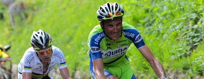 Ivan Basso Sul Monte Zoncolan