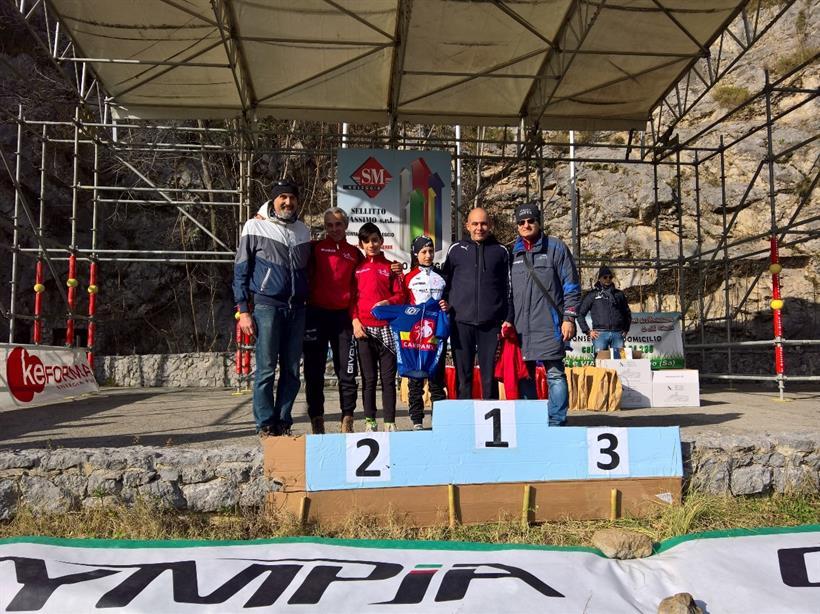 Memorial Sergio Botta 220117 Camp Reg Campania Eso 1Anno Palumbo Vece Min