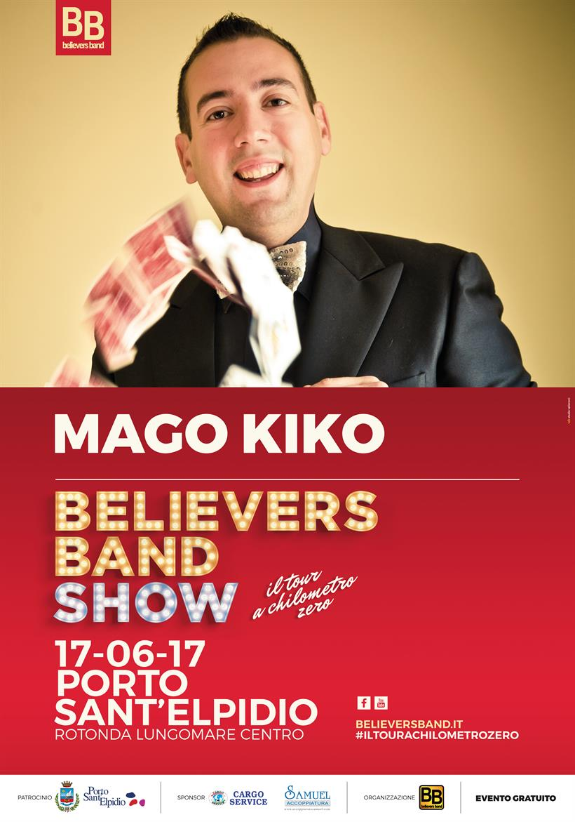 Manifesto Believers Band Tour OSPITI 2
