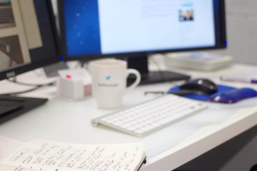 Notebook On Designers Desk