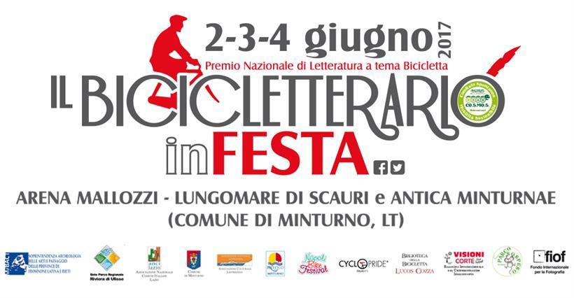 IL BICICLETTERARIO IN FESTA 2017 TESTATA