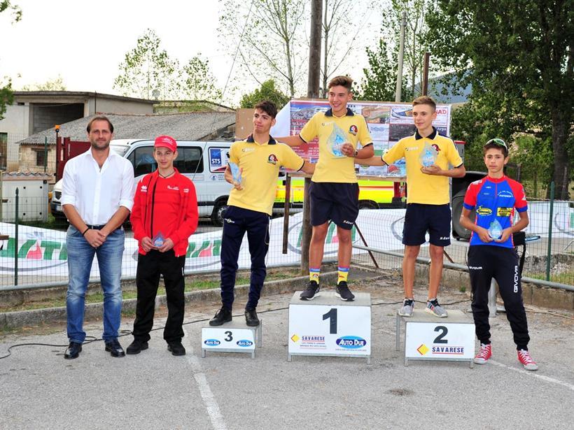Trofeo Marsicovetere 24092017 Podio Eso 2 Anno