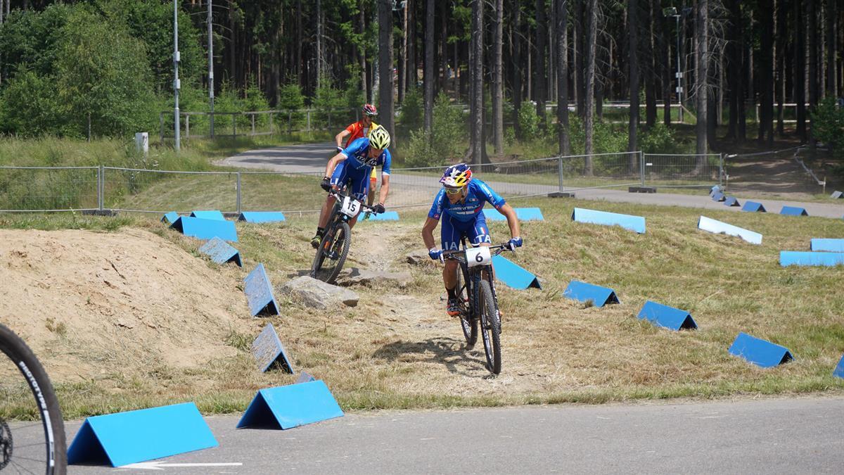 Fontana e Braidot in allenamento Mondiali MTB 2016