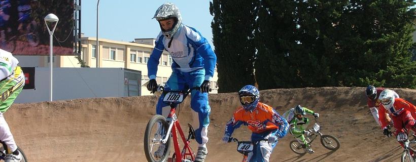 BMX Riders Cristian Becerine And Sander Bisseling