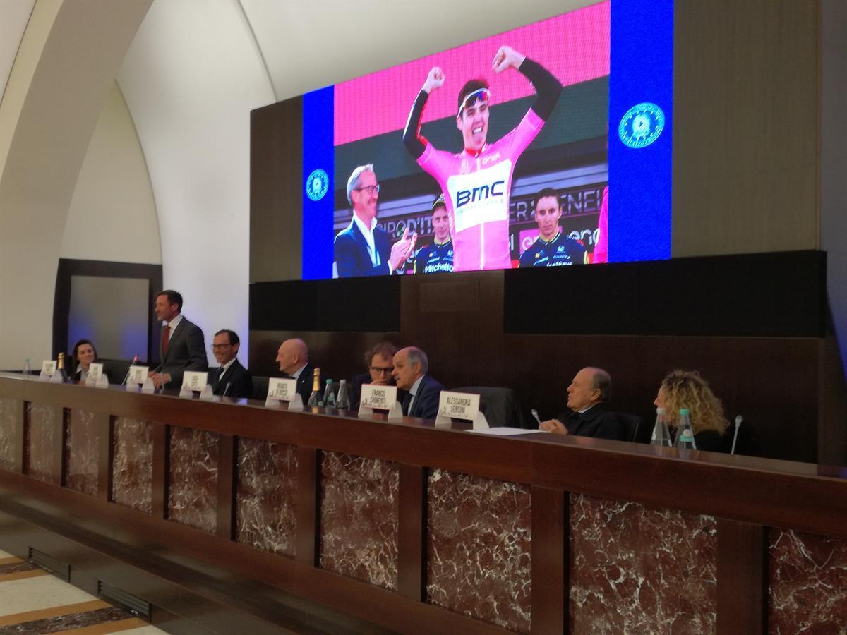 Presentazione Giro d'Italia U23