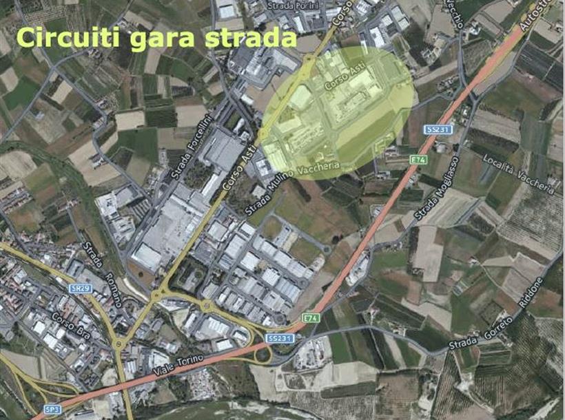 Area Circuiti Strada